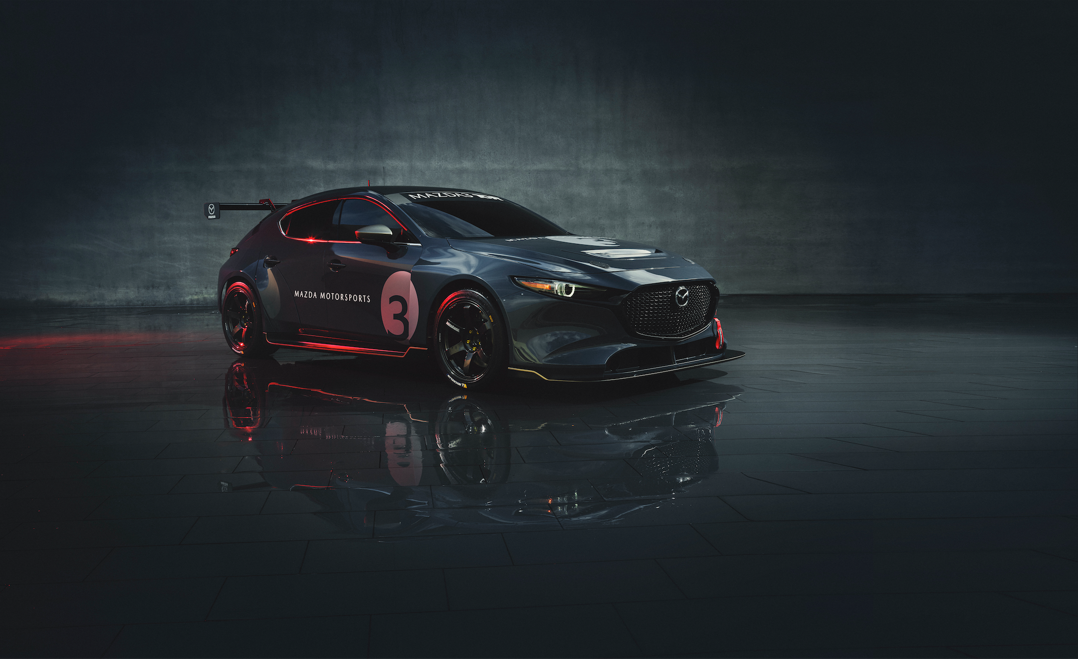 You Can Now Buy a Mazda 3 TCR Race Car