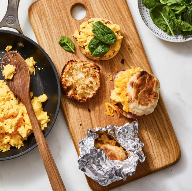 Make-Ahead Egg and Cheese Sandwich