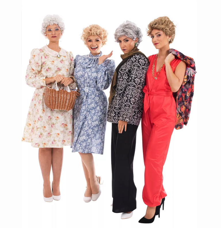 These The Golden Girls Halloween Costumes Will Transport You Right to Shady Pines