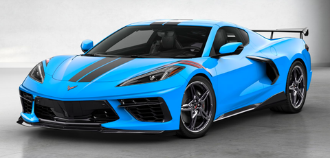 Land vehicle, Vehicle, Car, Supercar, Blue, Sports car, Automotive design, Performance car, Bumper, Coupé,