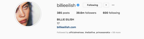 Does Billie Eilish Really Only Follow 666 People On Instagram?
