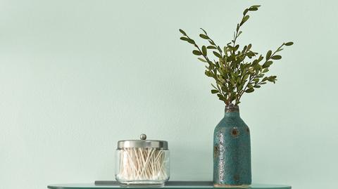 Vase, Blue, Green, Still life photography, Mason jar, Twig, Still life, Branch, Plant, Flowerpot,