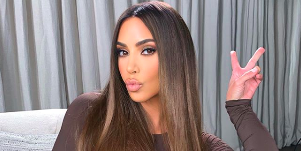 Kim Kardashian West Dyed Her Hair Chocolate Brown For Fall