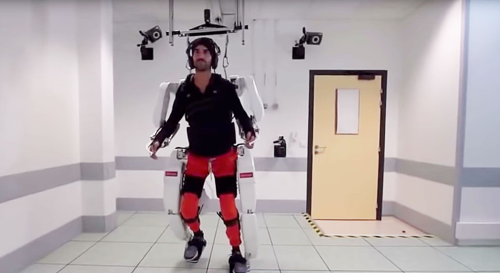 A Paralyzed Man Just Walked Again Using a Brain-Controlled Robotic Suit