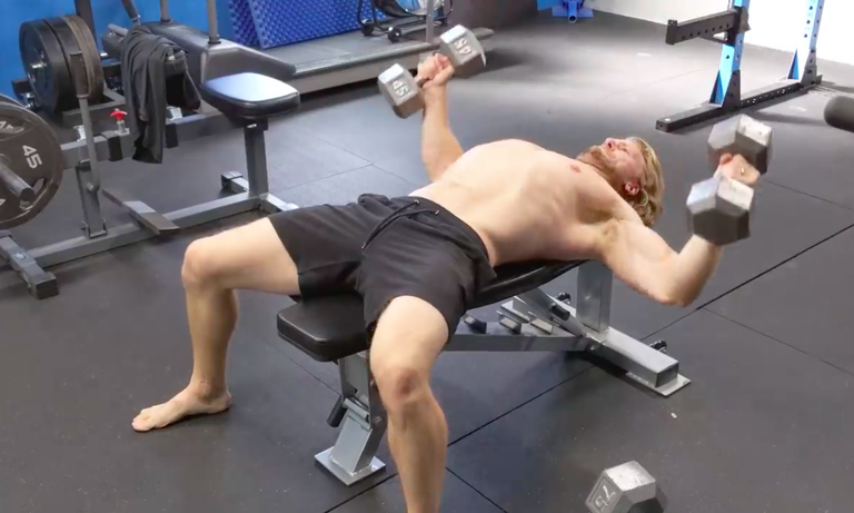 Watch This Bodybuilder Work Out on Just 4 Hours of Sleep for a Week