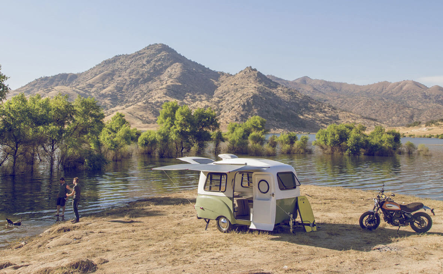 This Retro Camper Is Light Enough for Almost Any Car to Tow