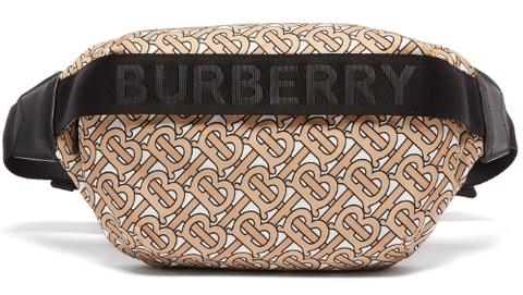 Burberry monogram belt bag