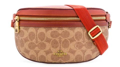 Coach monogram belt bag