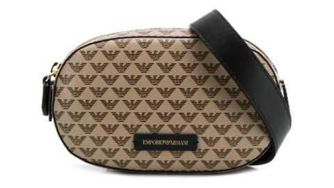 Emporio Armani logo belt bag