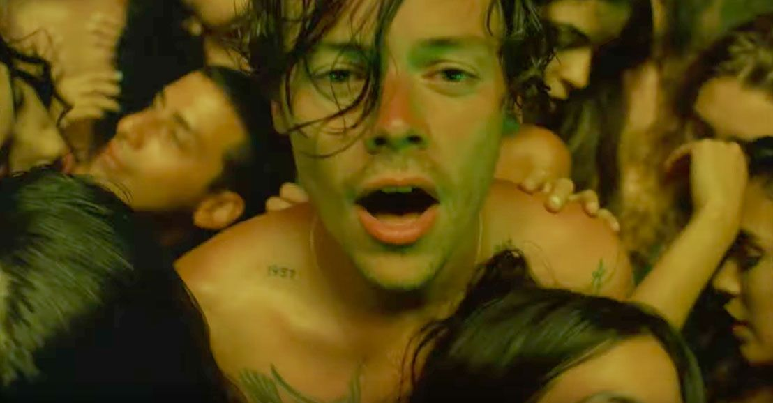 Harry Styles' New Music Video Is Essentially a Sweaty Orgy of All Genders