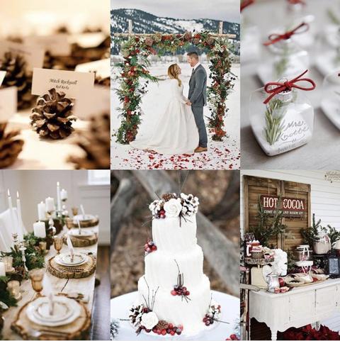 20 Winter Wedding Color Scheme And Decor Palette Ideas,Sherri Hill Wedding Dresses Uk