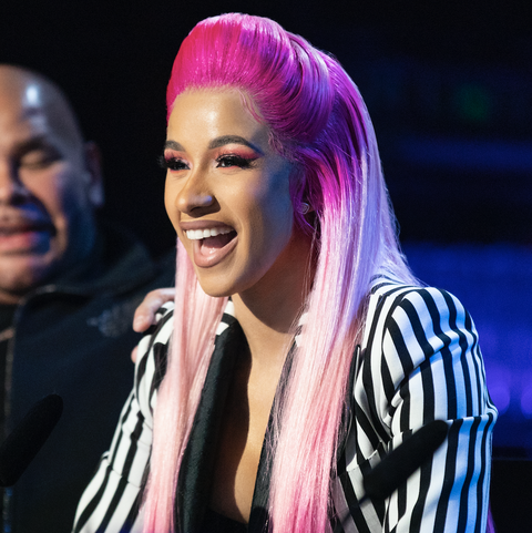 MANHATTAN, NEW YORK CITY, NY, USA AUGUST 20: Rapper Cardi