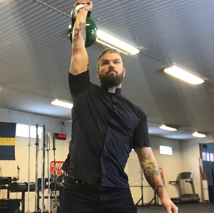 The Sexy 'CrossFit Priest' Is Here to Save Your Swole