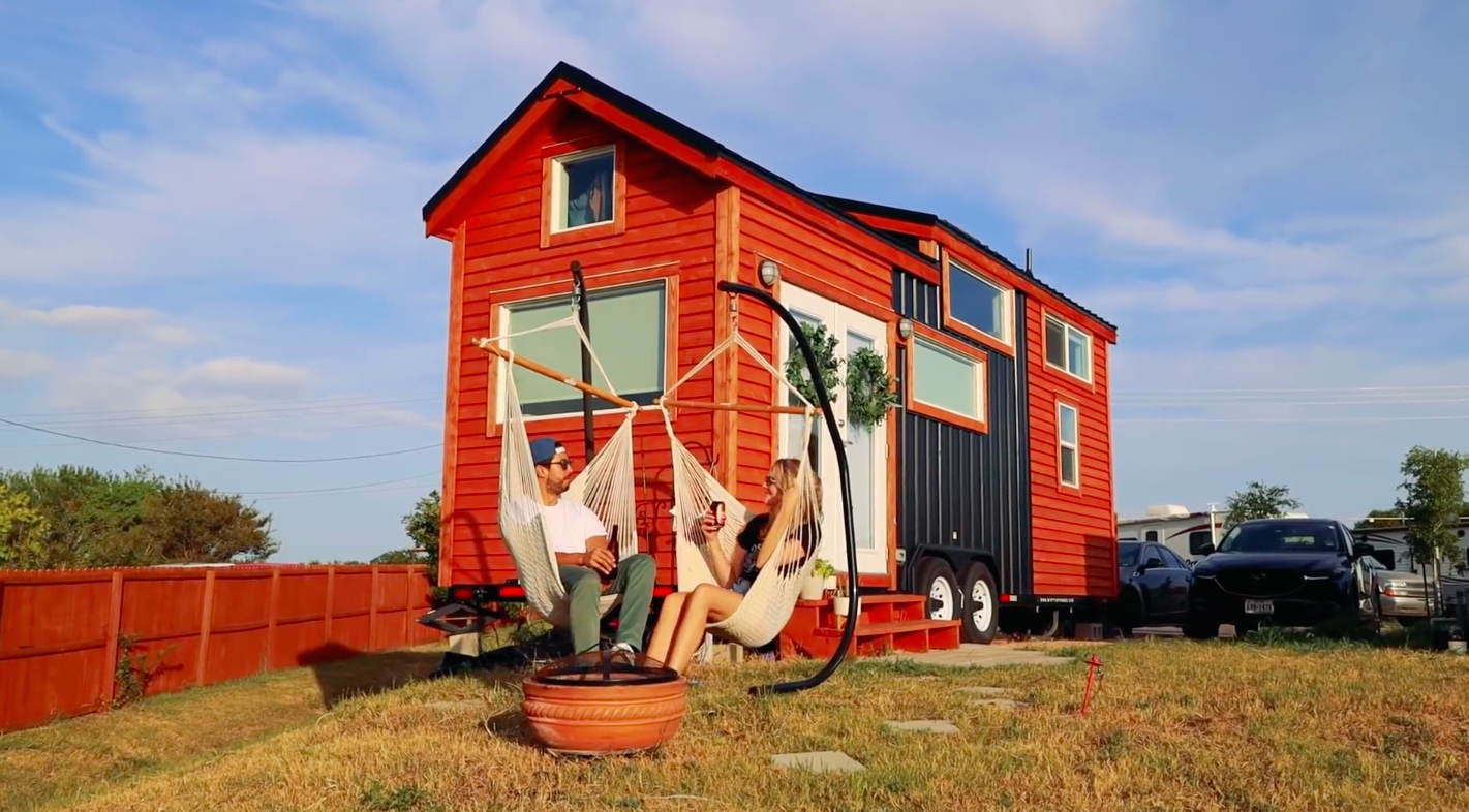 This Tiny House Somehow Has Room for a Whole Sauna