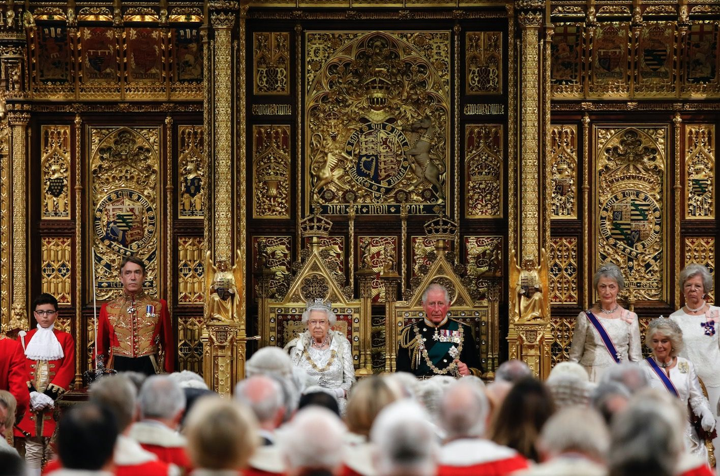 The story behind the Queen's jewels at the State Opening of Parliament
