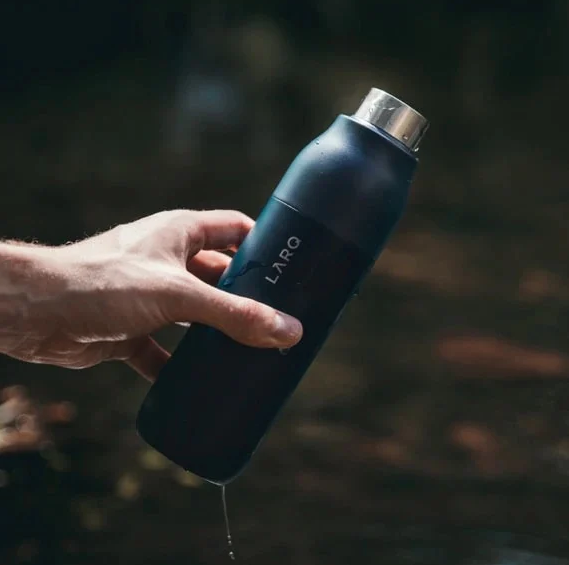 The World's First Self-Cleaning Water Bottle Has Just Launched in the Uk by LARQ