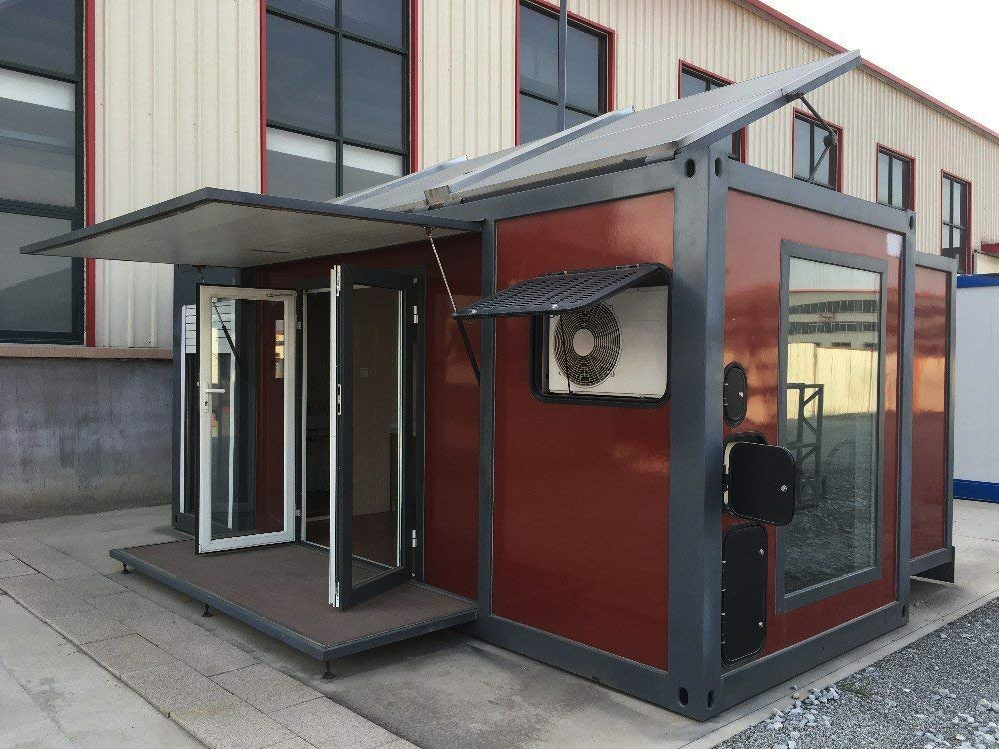 Amazon Is Selling an Expandable Solar-Powered Tiny Home That Requires Absolutely No DIY Work