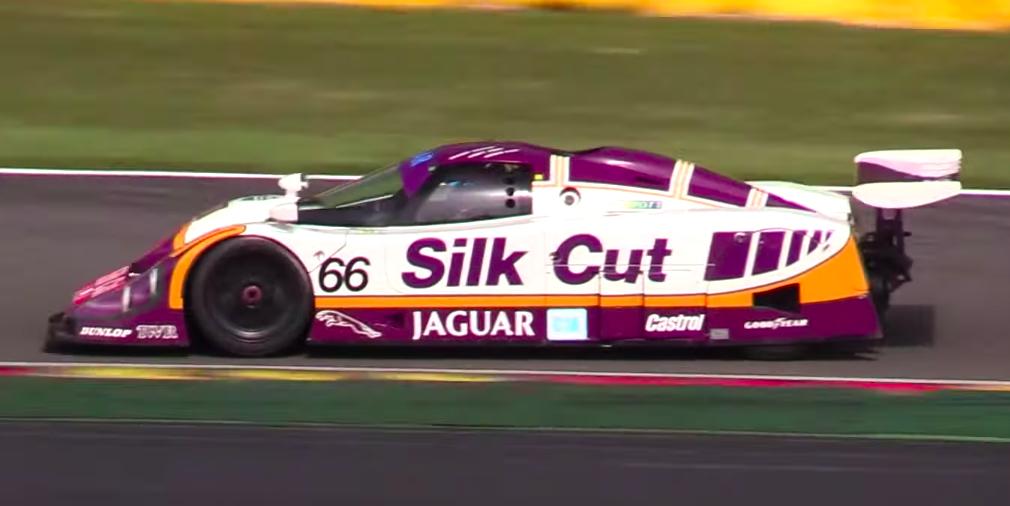 1987 Jaguar XJR-8 Group C Race Car V-12 Engine Sound Video
