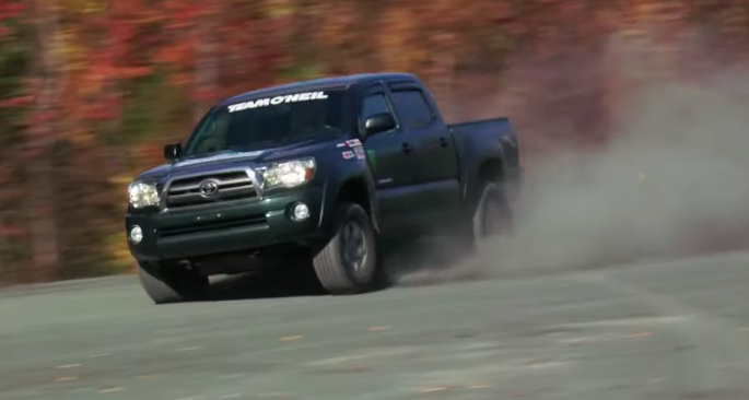 The Toyota Tacoma Is the Perfect Rally Truck