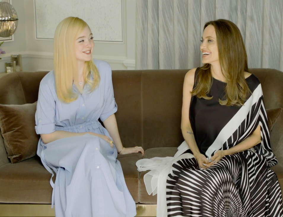 Angelina Jolie Just Learnt She And Elle Fanning Have A