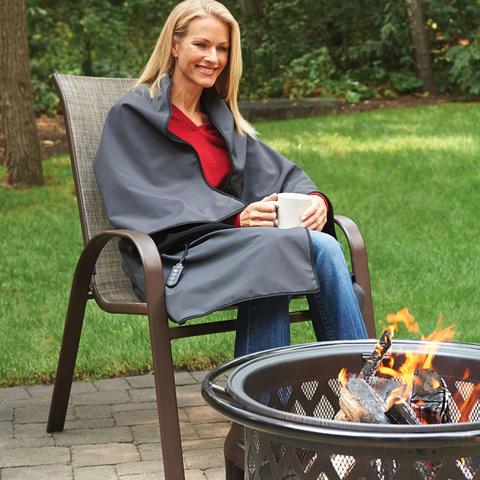 heated portable blanket