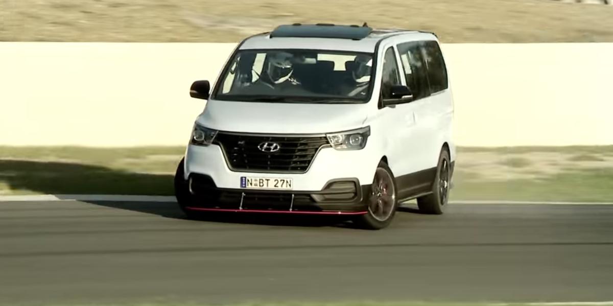 Hyundai Made a Drift Bus