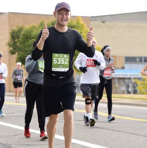 Canadian Kidney Disease Patient Finishes 2019 Detroit Marathon