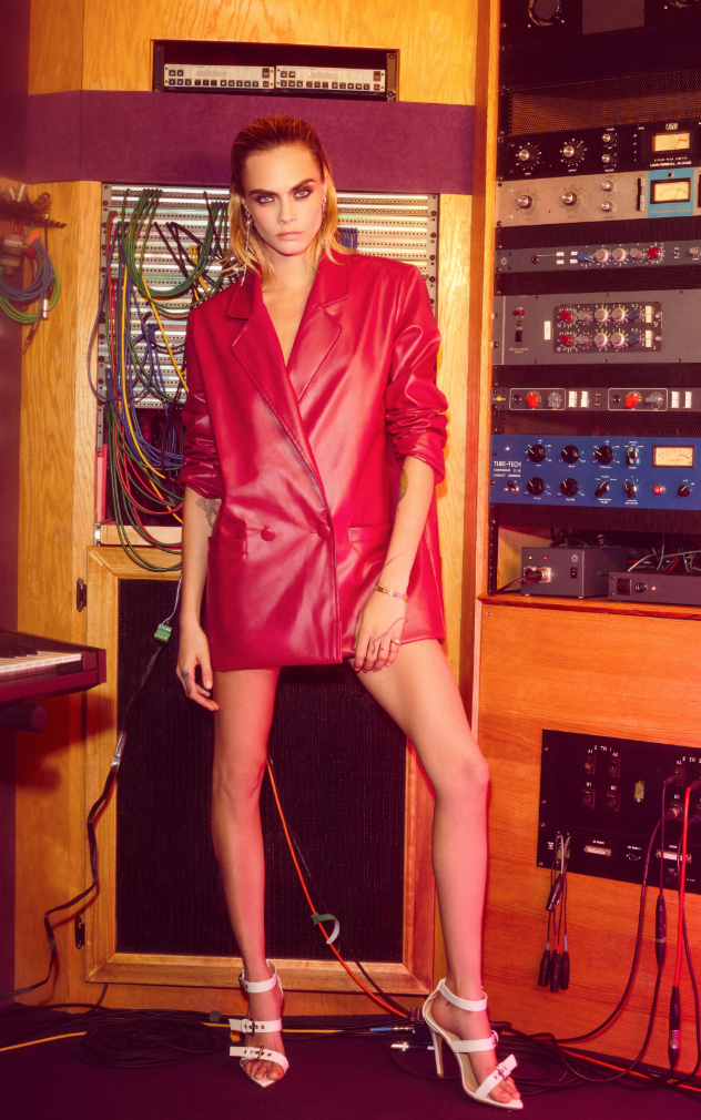 Cara Delevingne Is the Face of Nasty Gal's New Holiday Collection