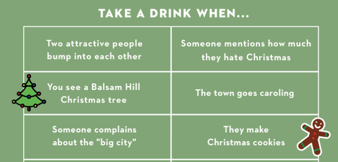 The Only Hallmark Christmas Movie Drinking Game You Need to Play