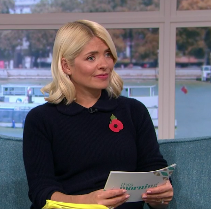 Holly Willoughby opts for understated look