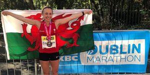 welsh runner breaks welsh national record