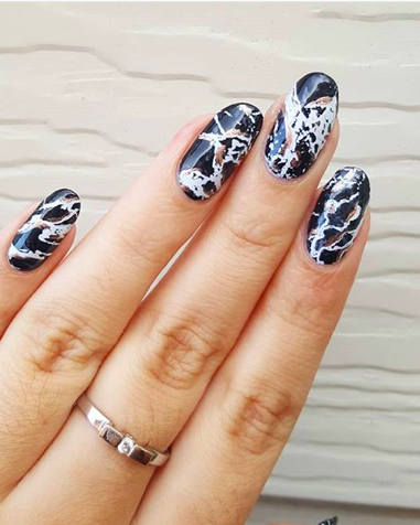 Marble Nails - How To Create Marble Nail Art