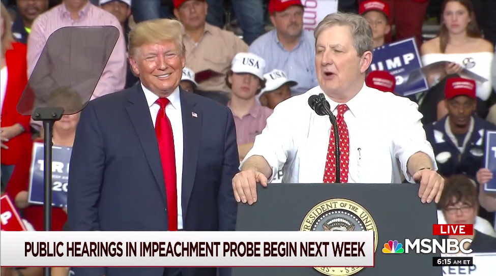 John Kennedy's 'Dumb' Attack on Nancy Pelosi Is a Reminder Every Republican Is Trump Now
