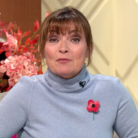 Lorraine Kelly looks chic in M&S polo neck