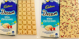 You Can Finally Buy Cadbury's Dream White Christmas Bars In The UK