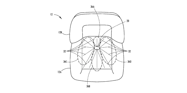 Ford Patents Moisture-Sensing Seat Technology