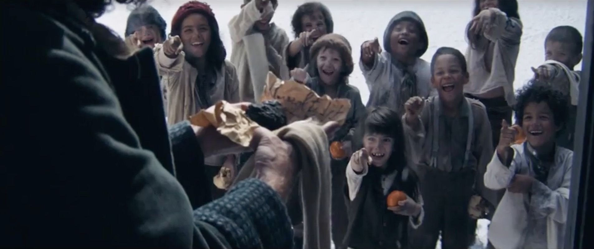 Sainsbury's Christmas advert 2019 is set in a Dickensian London