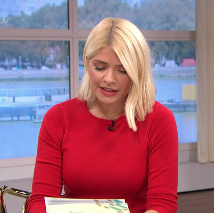 Holly Willoughby knitwear