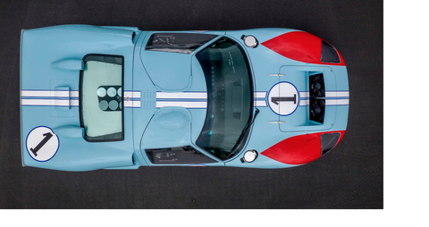 Replica Ford GT40 Used in Ford v Ferrari Movie to Roll across Auction Block
