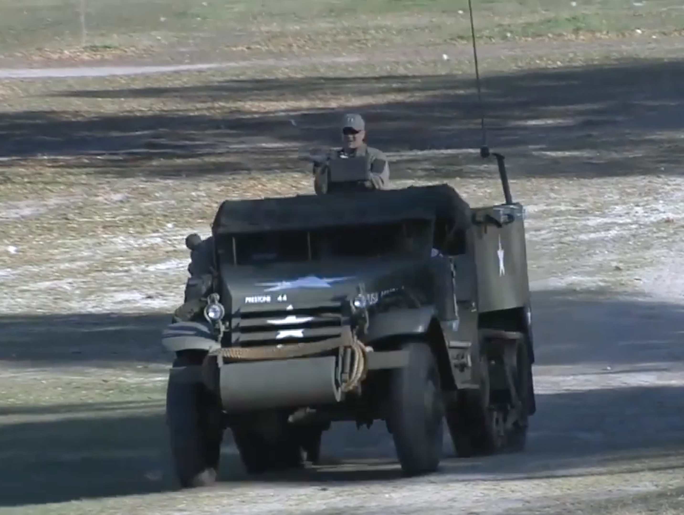 This Restored WWII Half-Track Is a Masterpiece