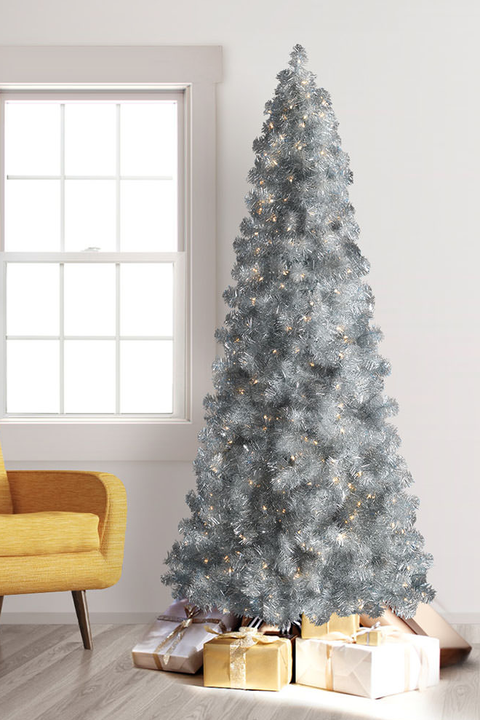 best silver christmas tree ideas