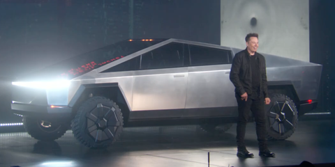Tesla Cybertruck Is An All Electric Alternative To Popular