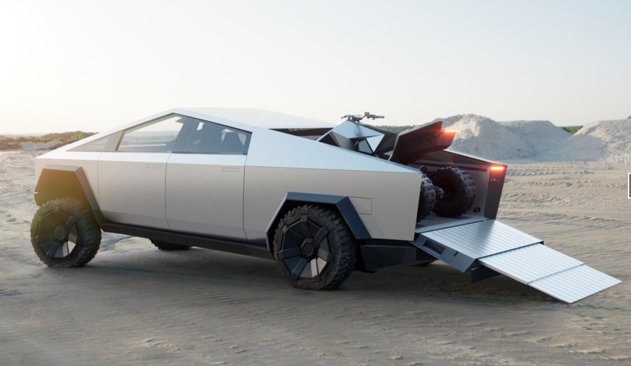 Tesla's ATV Will Arrive in 2021 Alongside the Cybertruck