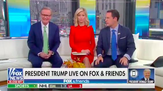 President Fox News Grandpa Had Himself a Morning on Fox & Friends
