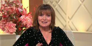Lorraine Kelly star print dress