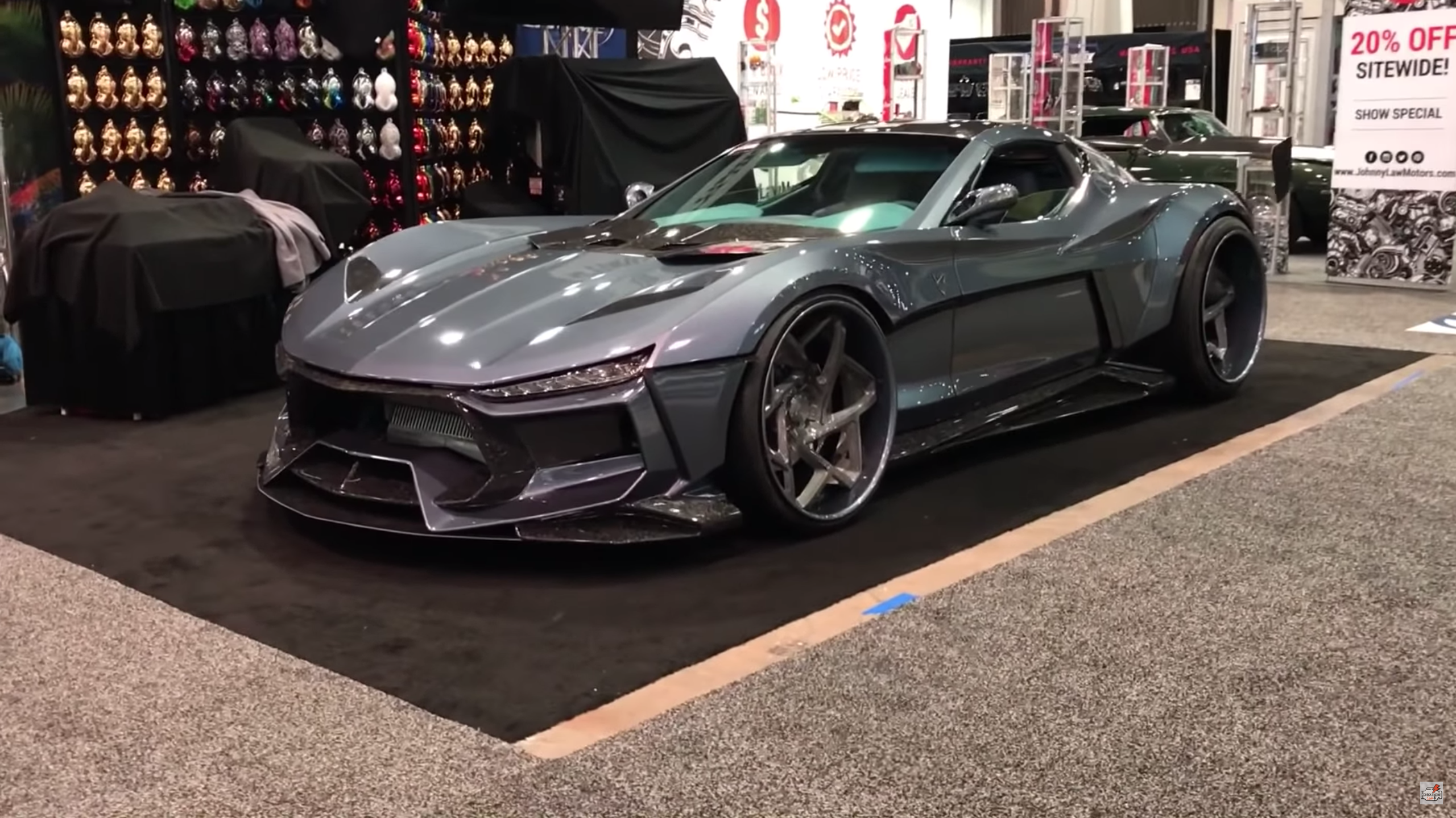 There's Actually a Corvette Under All This Body Kit