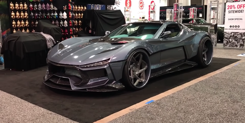 Car Body Kits >> There S Actually A Corvette Under All This Body Kit