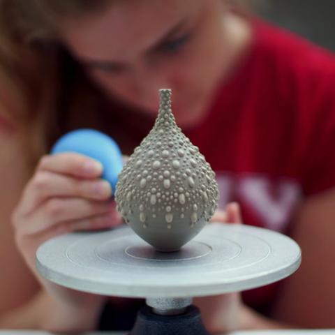 Kirstie's Handmade Christmas ceramic pottery