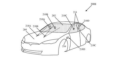 Tesla Patents Frickin' Laser Beams That Clean a Car's Glass