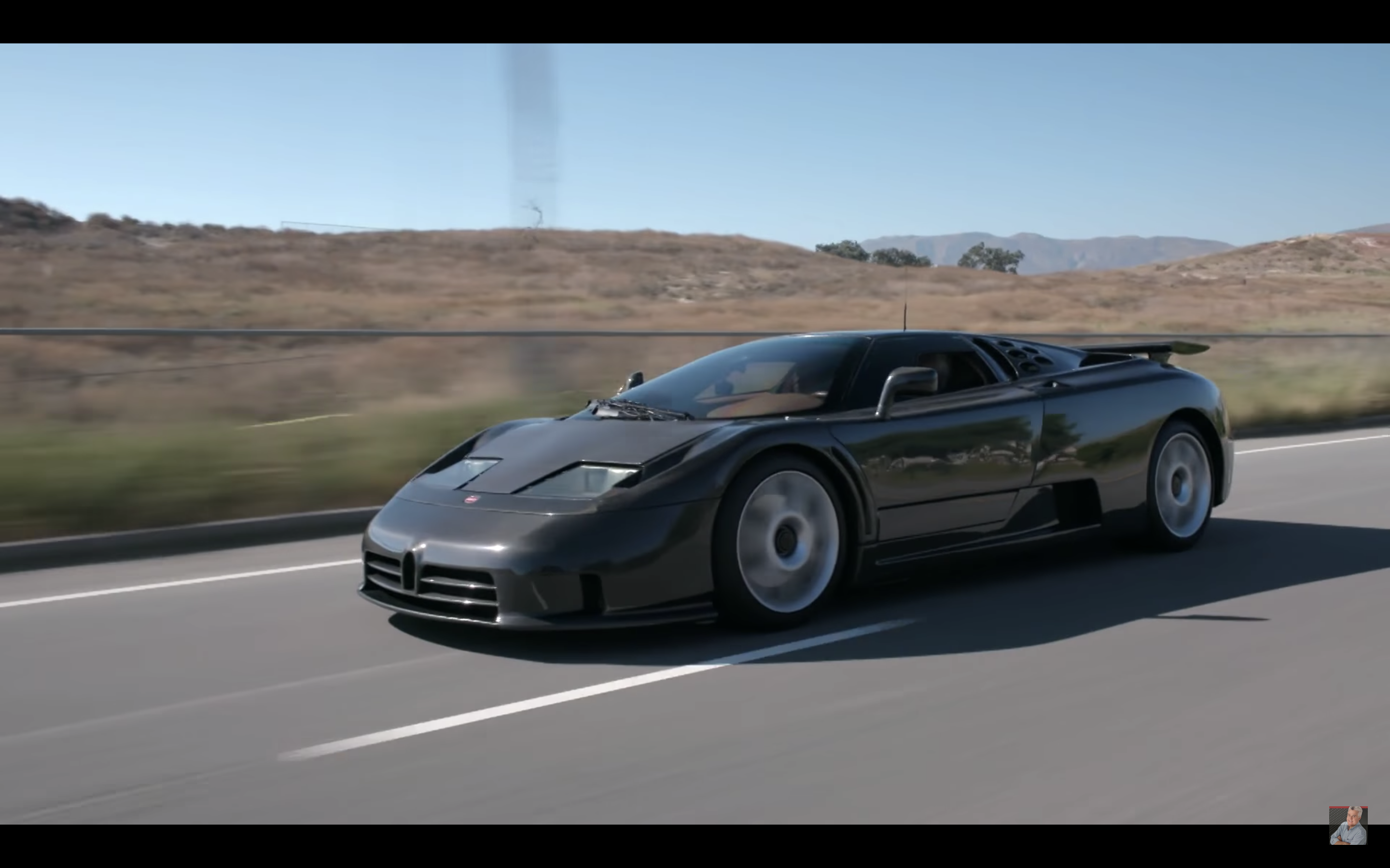 This Carbon Fiber Bugatti EB110 Was Ahead of Its Time